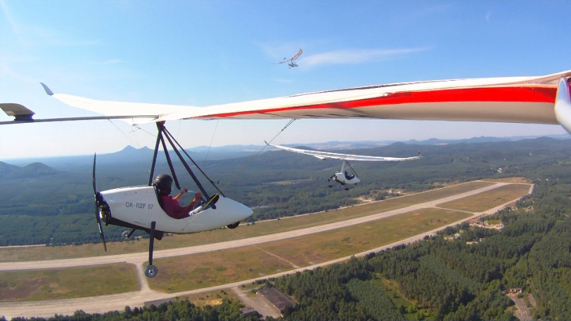 Test flight - Ultralight design